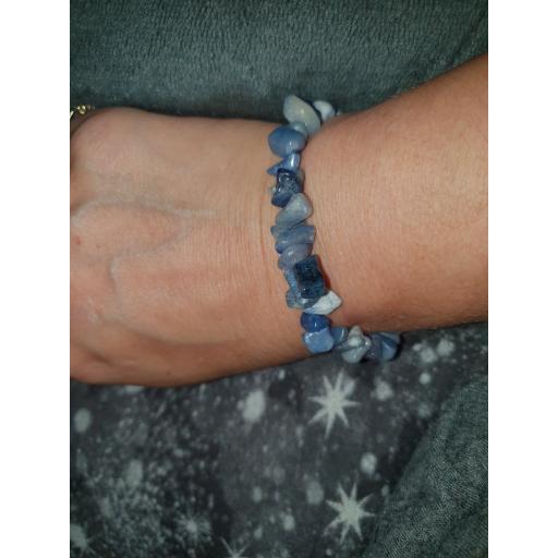 Kyanite healing bracelet