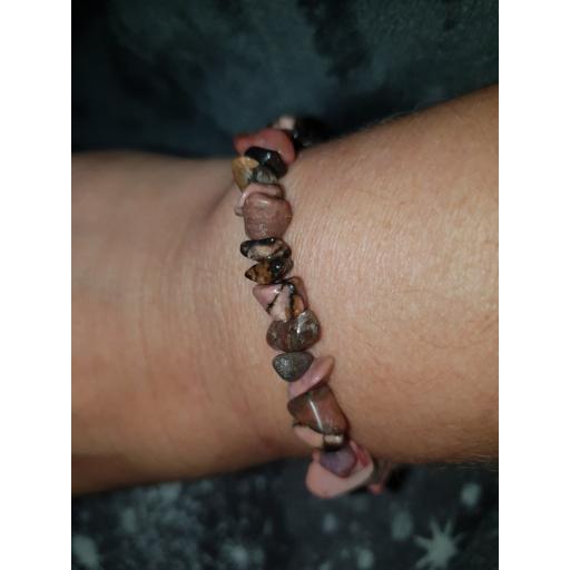 Rhodonite healing bracelet